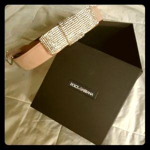 Belt, Dolce&Gabbana, new, leather